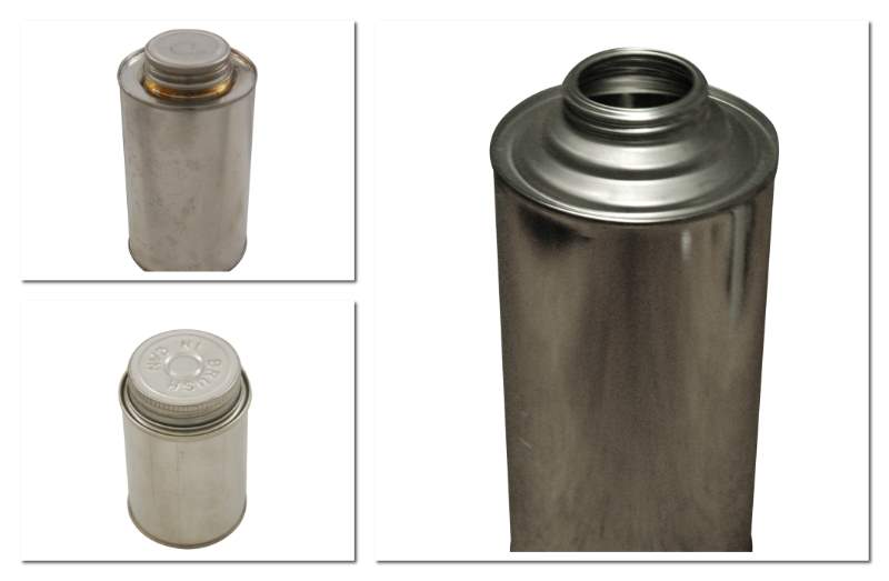 Cone Style Metal Cans